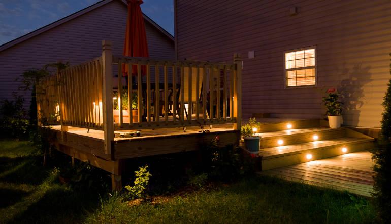 Lampes pour décorer le jardin