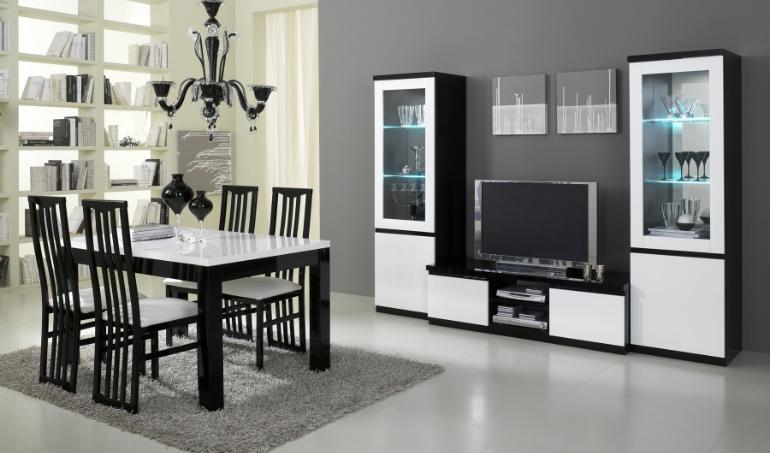 Les avantages du mobilier noir et blanc