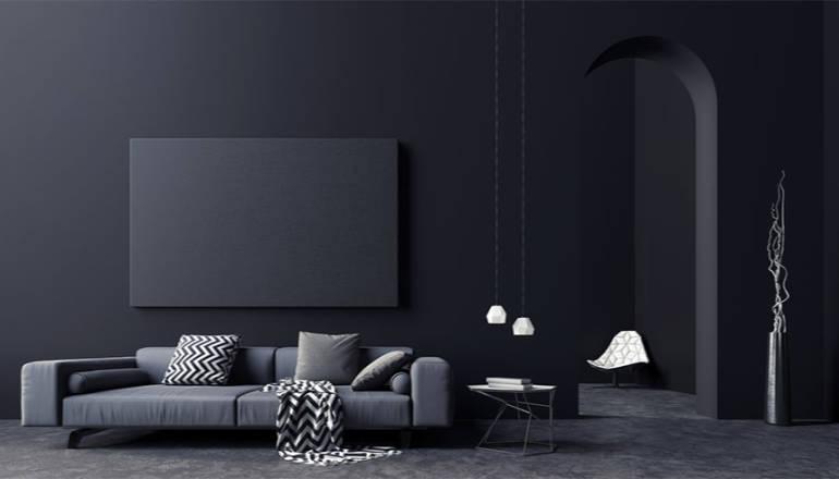 Déco : quelles couleurs associer avec le noir ?