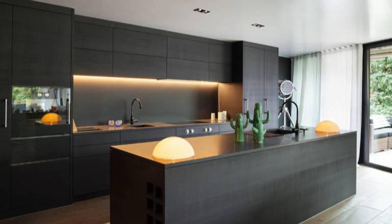Une cuisine pour recevoir